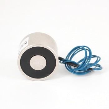цена на High quality 10KG 30/22 DC 6V 24V 12V Electromagnet Lifting Solenoid Sucker Holding Electric Magnet,accept Non-standard custom