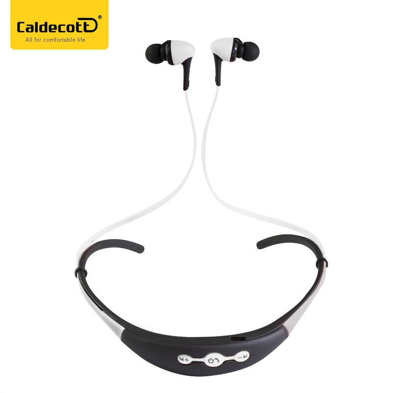 Caldecott Bluetooth Headset Wireless Headphones for mobile with Microphone Sport Stereo Bluetooth Earphone for iPhone Android ultra light wireless bluetooth stereo headphones earphone headset with microphone for android smartphone iphone7 6 6s tablet pc