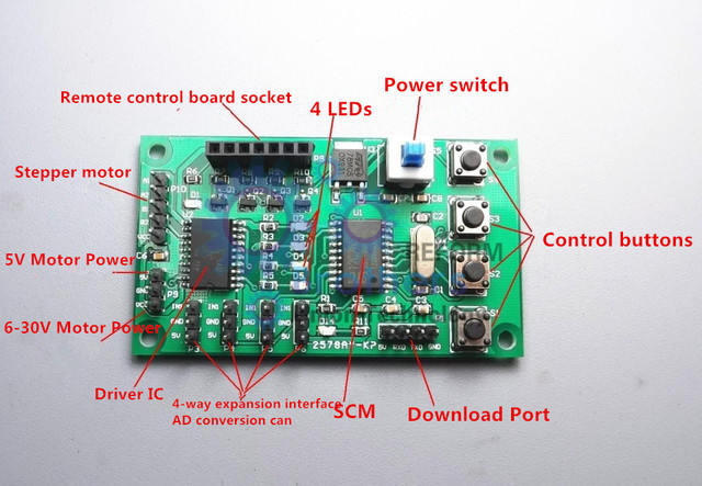 Micro Programmierbare 2 phasen 4 draht 4 phasen 5 leiter ...
