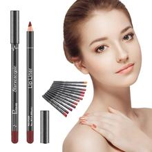 Pudaier 12pcs/lot Professional Lip Liner Set Natural Waterproof Lipliner Long Lasting Nude Cosmetics Makeup Lip Liner Pencil Z3