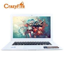 Crazyfire 8GB RAM & 256GB SSD Quad Core Laptop ordenador portatil Computer Notebook 14 Inch 1600*900 Screen Windows 10 Laptops