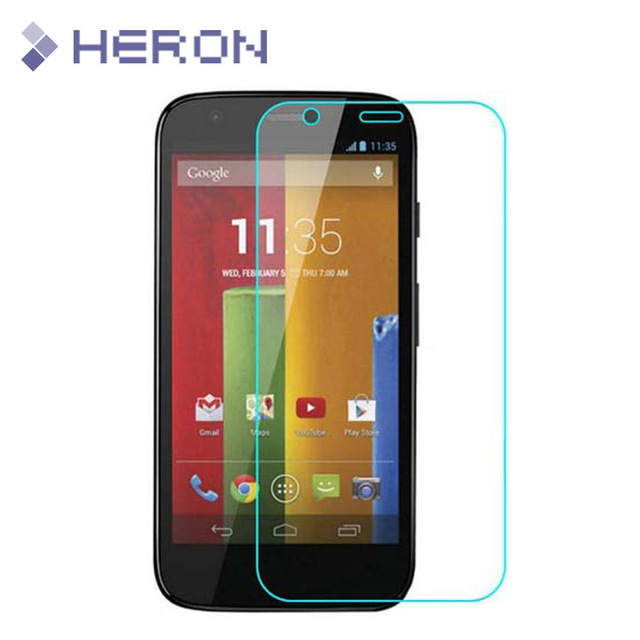 0.3mm Premium Tempered Glass for Moto G X  E  X2  G2  G3 9H  0.2mm Round Border Transparent Screen Protector with Clean Tools