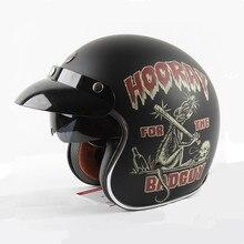 Новое прибытие винтаж мотоциклетный шлем Ретро скутер шлем бренд TORC открытым лицом шлем ECE approved 3/4 шлем cascos moto