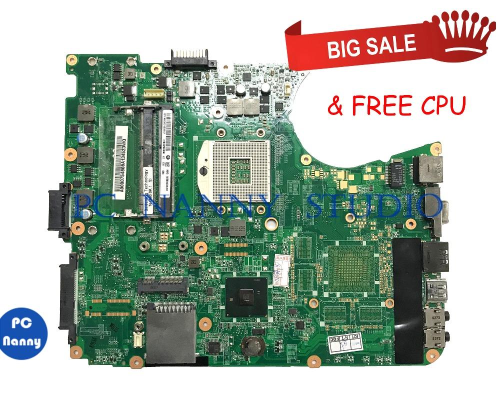 PC NANNY For TOSHIBA SATELLITE L655-S5099 L655 Laptop Motherboard A000075480 HM55 GMA HD DDR3 DA0BL6MB6G1 tested