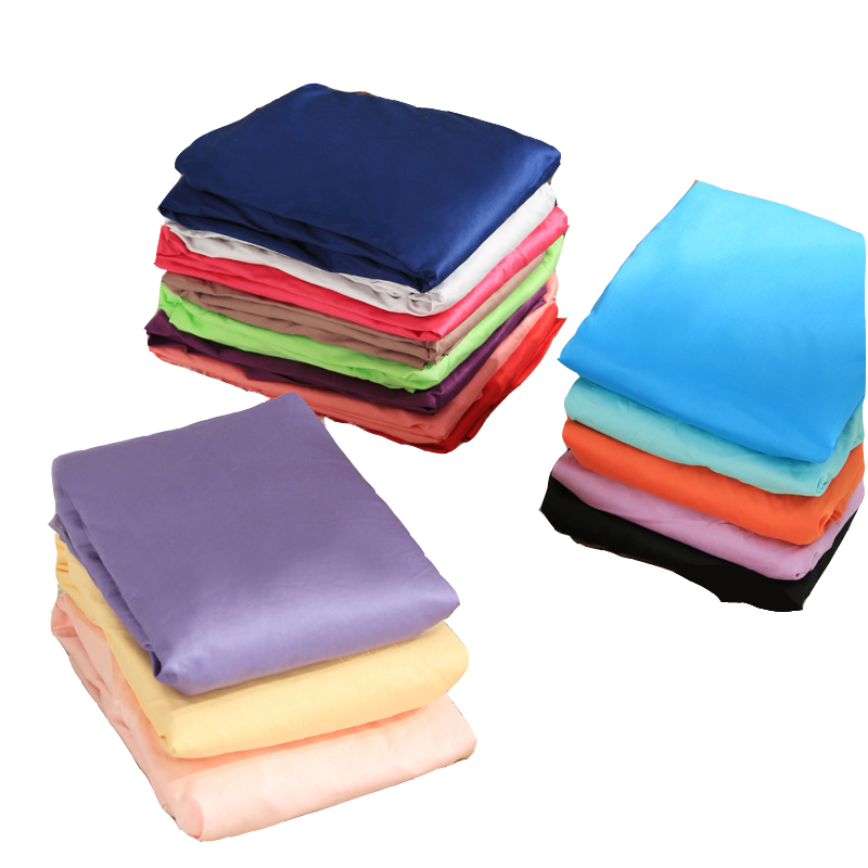 (15inch/38cm) 1pc Deep Pocket fitted Sheet 100% cotton Bed Sheets Changing Mat Mattress Protector Cover Pad 400TC