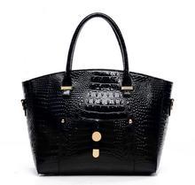 Luxus Krokodil Gold Kupplung Handtasche 2017 frauen vintage leder reißverschluss designer inspiriert umhängetaschen sac ein haupt marques 5
