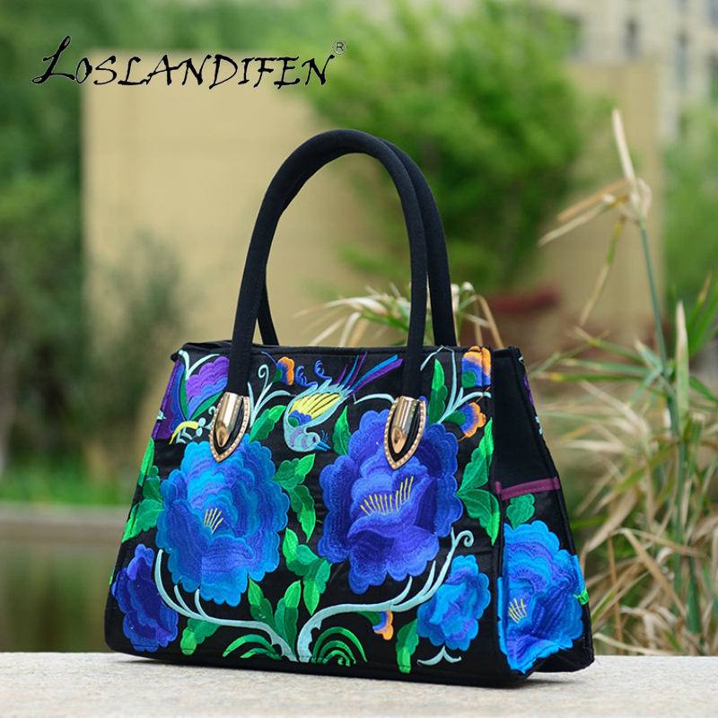 chinese national style embroidery zipper handbag women tote canvas embroidered peony magpie shoulder bag woman crossbody bags vintage embroidery women flats chinese floral canvas embroidered shoes national old beijing cloth single dance soft flats