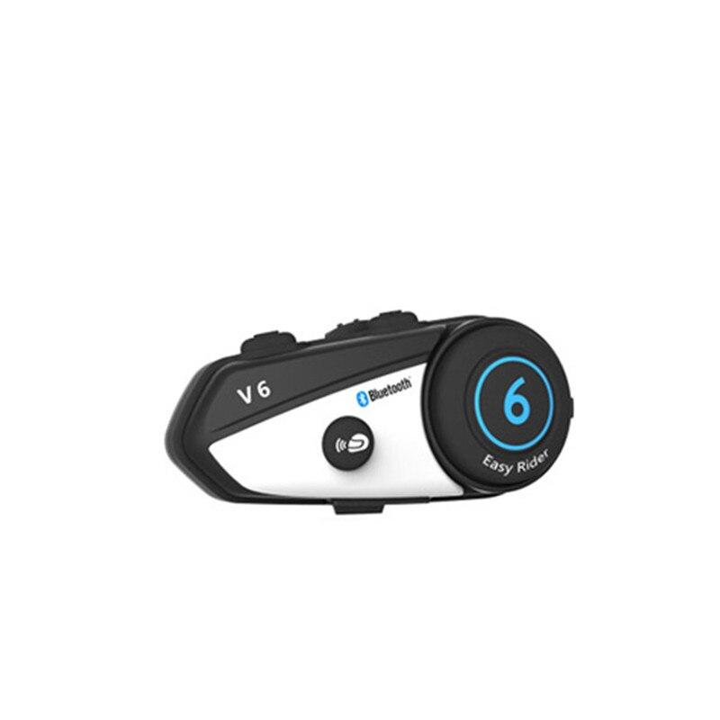 Image 5 - Vimoto V6 BT Interphone Motorcycle Helmet Headset Intercom  simultaneously pair 2 different Bluetooth High fidelity  transmissionvimoto v6v6 btbt interphone -