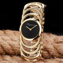 2017 New Luxury Brand Women Quartz Watches montre femme Gold Design Bracelet Watches Ladies Women Watch