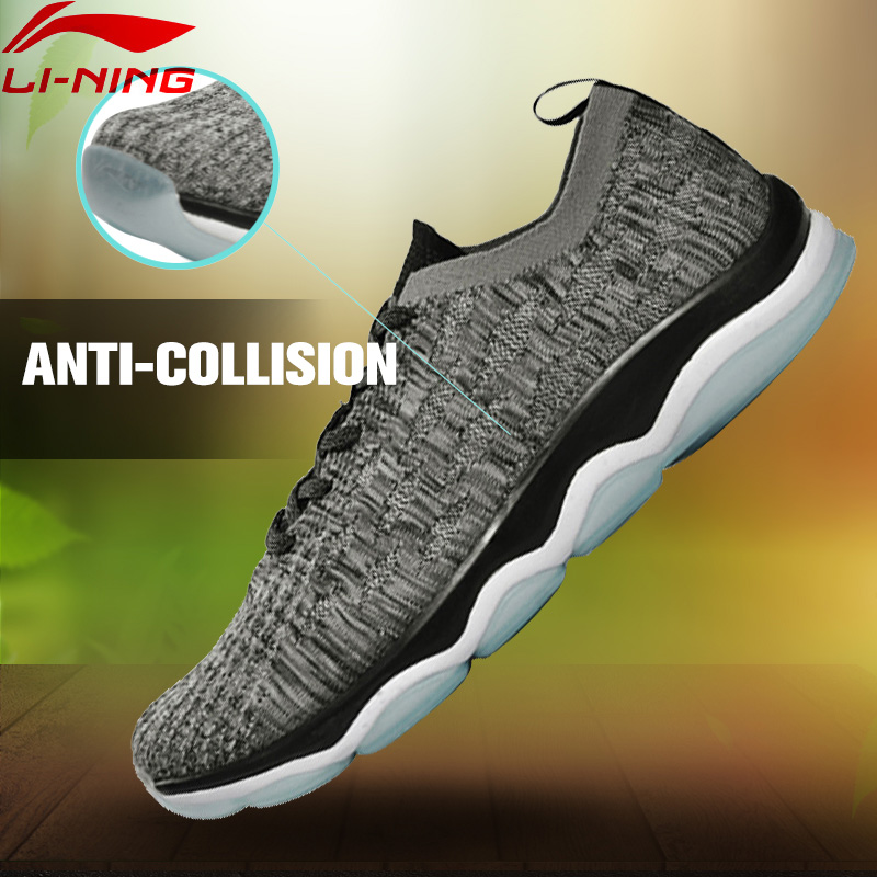 Li-Ning Men's Power Training Shoes Texile Breathable Sneakers Light Soft LiNing LiNing Sports Shoes AFHM021 YXX015 original li ning men professional basketball shoes