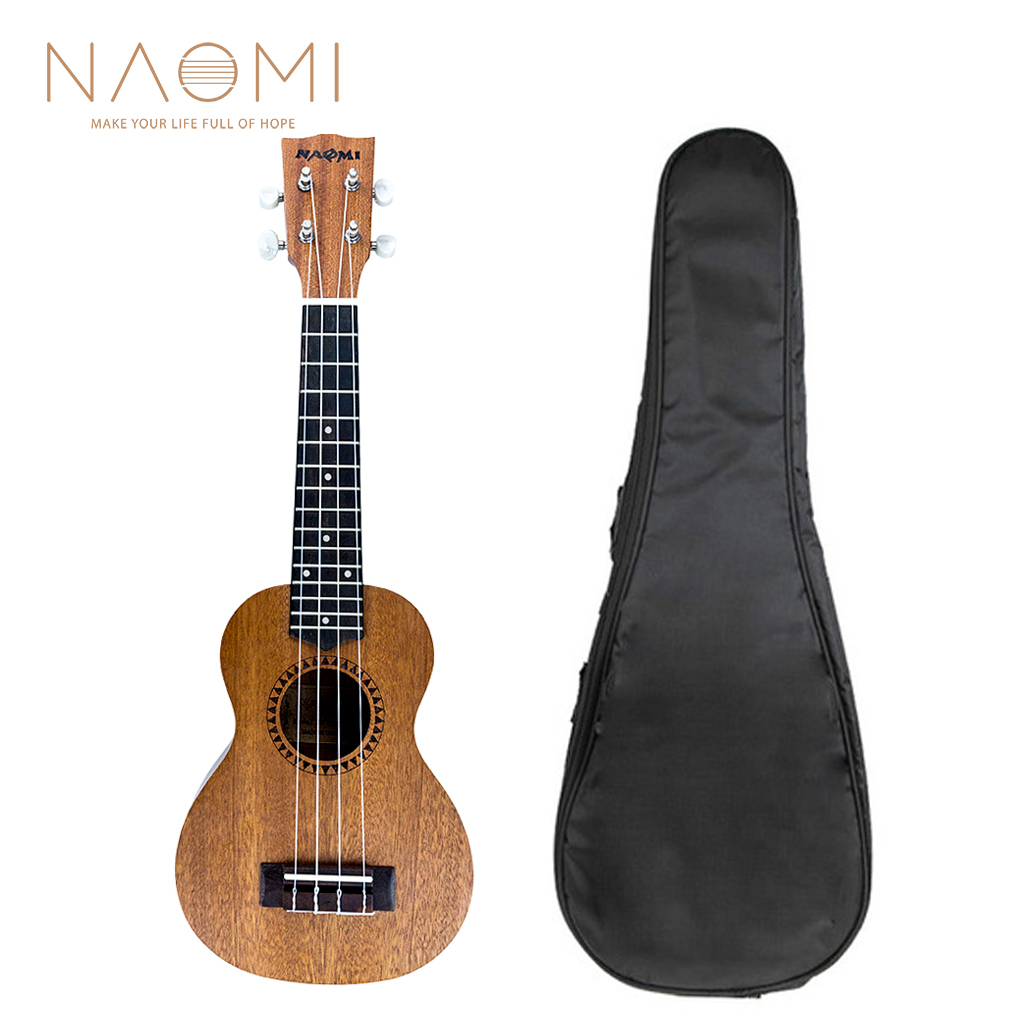 Sports & Entertainment Careful 21 Mini Sapele Ukelele Rosewood Fingerboard Mahogany Neck Nylon String Matte Kids Gift Musical Instruments