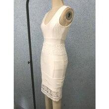 Deep V Neck Sleeveless Party Dress