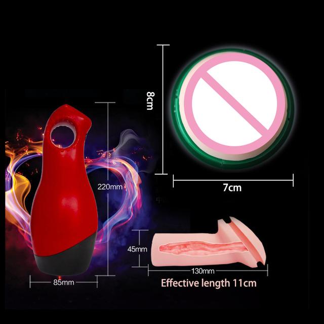 Pocket Vagina Male Masturbator Device
