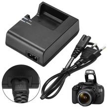 Новое поступление 1 шт. LC-E10C зарядное устройство для камеры+ ЕС штекер шнур питания для Canon LP-E10 EOS 1100D 1200D Kiss X50 Rebel T3