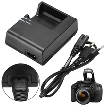 New Arrival 1pc LC-E10C Camera Battery Charger + EU Plug Power Cord For Canon LP-E10 EOS 1100D 1200D Kiss X50 Rebel T3