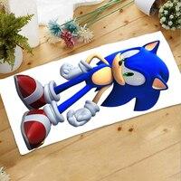 Oktober. Heimtextilien Sonic The Hedgehog 71*32 CM Mikrofaser Stoff Cartoon Handtuch Geschenk #40357