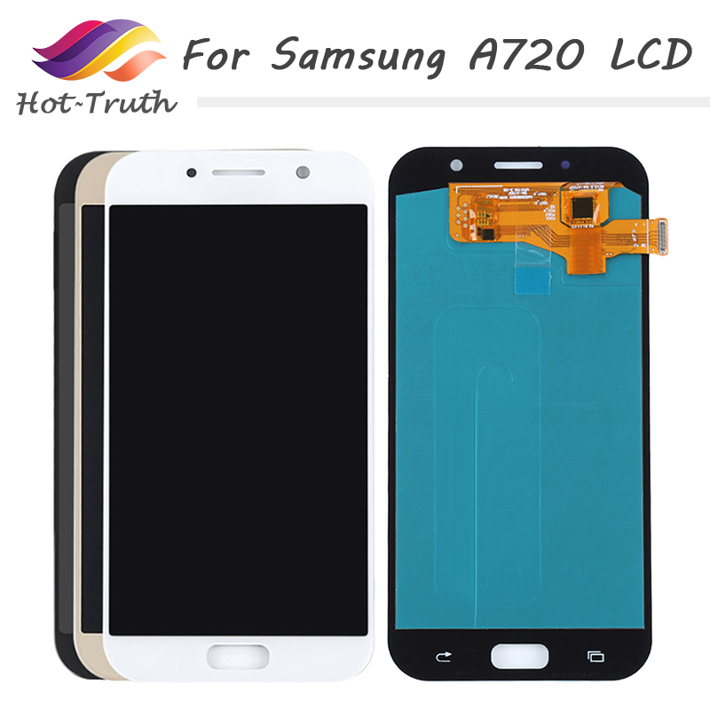 5.7 Original Super AMOLED LCD Display+Touch Screen Digitizer For SAMSUNG Galaxy A7 2017 A720 A720F A720F/DS Replacement Parts5.7 Original Super AMOLED LCD Display+Touch Screen Digitizer For SAMSUNG Galaxy A7 2017 A720 A720F A720F/DS Replacement Parts