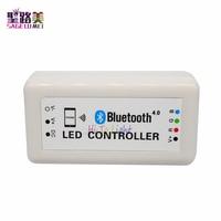 Regulador del led RGB para la tira del led llevó el módulo de Bluetooth, el apoyo Bluetooth versión 4.0, iphone 4s o superior, la magia llevó la luz software