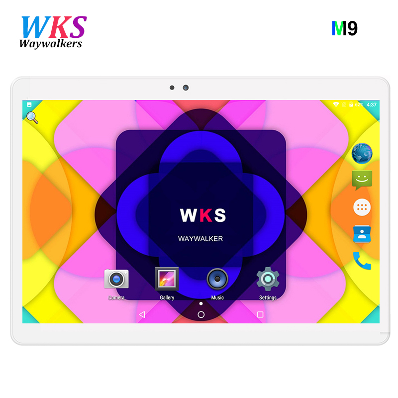 Original Tablets 10.1 inch 1280*800 3G SIM Phone Call Tablet PC Octa Core Bluetooth WIFI GPS Android 7.0 Tablet PC WiFi 4GB+64GB cige a6510 2018 10 1 inch octa core tablet pc android 3g dual sim 1280 800 ips 4gb wifi bluetooth phone call google play gps