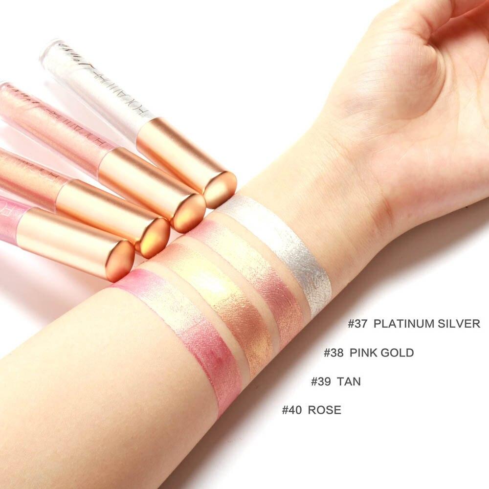 New Fashion Lipstick Cosmetics Women Sexy Lips Metallic Lip Gloss F815 6