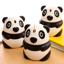 BF040 Creative Panda automatic toothpick box type portable holder high-grade cute storage tank 8*10cm