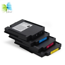 for Ricoh Aficio GX e5550N e7700n high yield ink cartridge set картридж ricoh gc 31y 405691 для aficio gx e2600 gx e3300n gx e3350n gx e5550n gx e7700n желтый