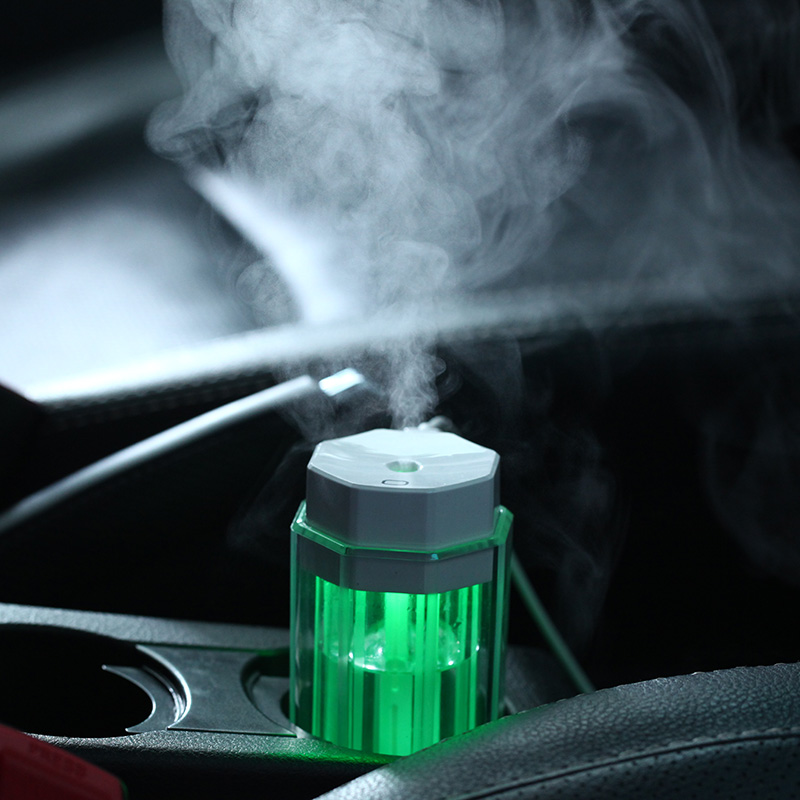 Humidificateur d'air portable lampe LED colorée USB atomiseur - Appareils ménagers - Photo 3