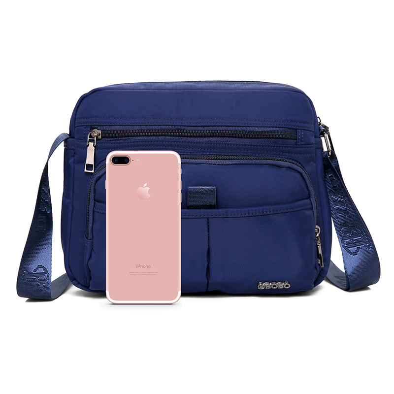 5541cfa80855 New Arrival Men Messenger Bag Small Casual Crossbody Bag Business Men s  Handbag Bags for Gift Nylon Shoulder Bags Men Black