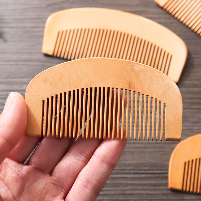 CSHOU26 GOOD peach wood comb Hair hair straight hair women comb one style