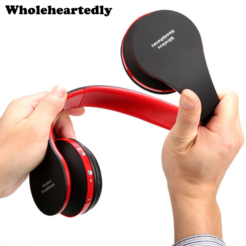 Folding HiFi Deep Bass Kopfhörer Wired / Wireless Stereo Bluetooth Kopfhörer Over-Ear Noise Cancelling Headset Mit Mikrofon