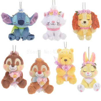 Neue Stich Marie Bunny Bär Chipmunk Plüsch Schlüsselanhänger Kinder Kuscheltiere Spielzeug Für Kinder Geschenke 10 CM/20 CM