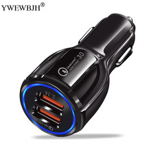 YWEWBJH Quick Car Charger QC3.0 2.0 Fast Charging Cable For Samsung Xiaomi Huawei Sony Android Charge Adapter Data Car Charger цена