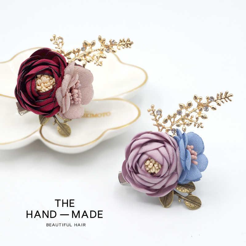 3D сделанные вручную цветочные броши коробка упаковка брошь flor fleur broche для шпильки/сумки украшения/декоративная шаль