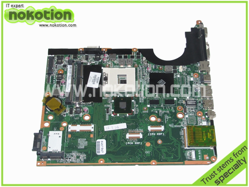 NOKOTION 580976-001 Laptop motherboard for HP Pavilion dv6-2100 DA0UP6MB6F0 REV F Intel PM55 graphics Mainboard full test 744009 501 744009 001 for hp probook 640 g1 650 g1 motherboard socket 947 hm87 ddr3l tested working