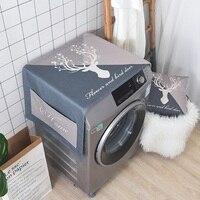Cotone e Lino Copertura Antipolvere Dustcloth per Lavatrice a Tamburo Comodino Per La Cucina Home Decor