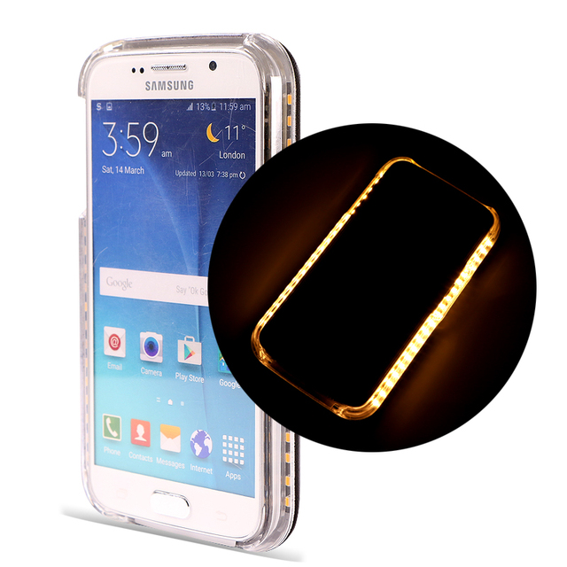 samsung galaxy s7 edge coque led