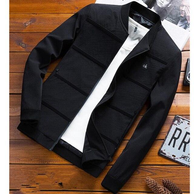 Chaqueta de bombardero de moda Asstseries para hombre, diseño de parche de Hip Hop, chaqueta de piloto ajustada, chaqueta de bombardero para hombre, talla grande 4XL