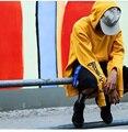2016 Gosha Rubchinskiy Hoodies Homens Mulheres Dupla Segmentada Manguito Moletom Hip Hop Streetwear moletom com capuz