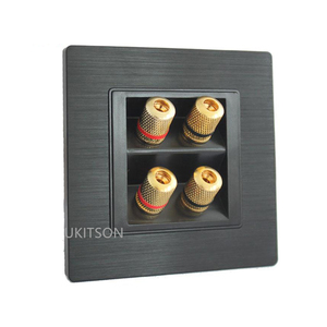 Image 3 - مكبر صوت ذو جودة ألواح للحائط الإطار مع 4 منافذ الموز موصلات ل نظام مسرح منزلي