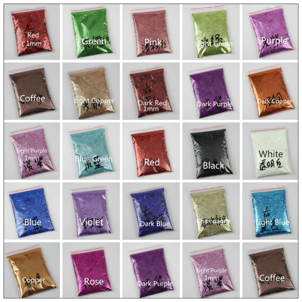 Hot 2015 50g glitter powder Sequin Powder For DIY Nail Art Beauty ...