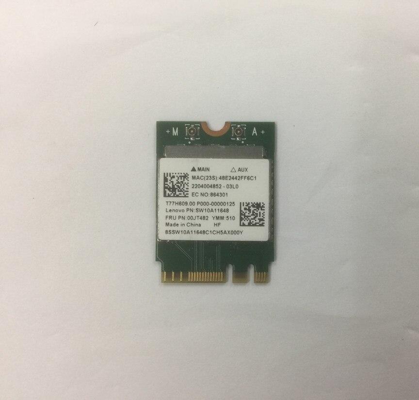 SSEA беспроводная карта для Realtek RTL8821AE 802.11AC NGFF двухдиапазонный 433 Мбит/с WiFi Bluetooth 4,0 карта для IBM Lenovo FRU 00JT482