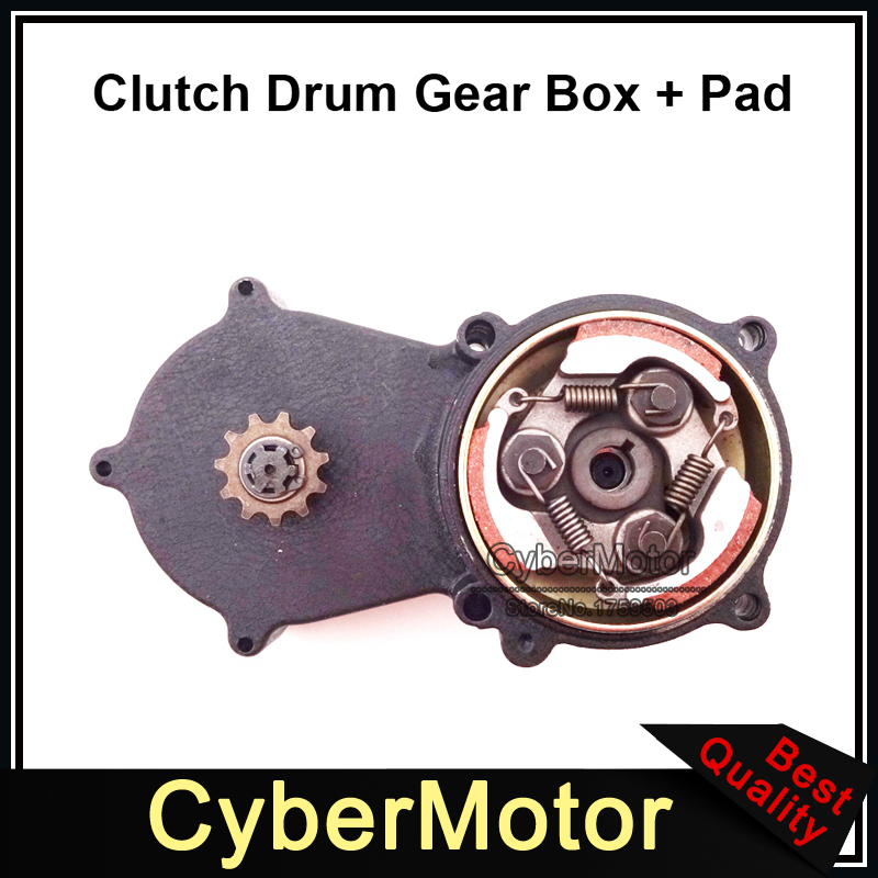 Mini moto 11 T T8F Double chaîne embrayage tambour boîte de vitesse Pad pour 47cc 49cc 2 temps moteur pièces chinois Mini moto Dirt Bike