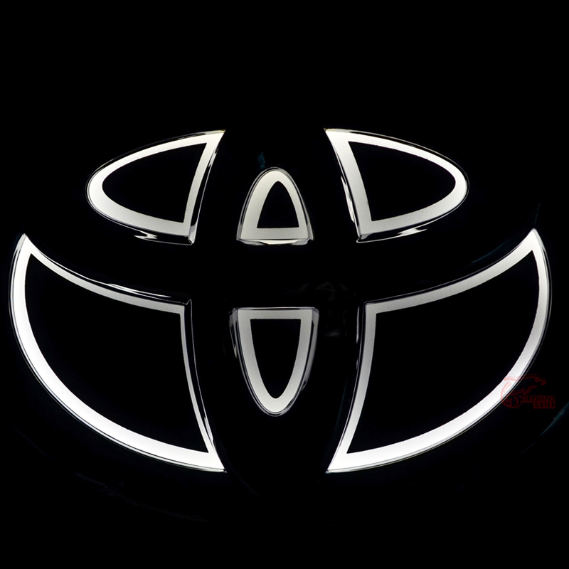 All New Camry Logo Otr Grand Avanza Car Styling 5d Rear Front Badge Bulb Emblem Light For Toyota Rav4 Corolla Yaris Reiz High Quality Free Shipping In Emblems From Automobiles