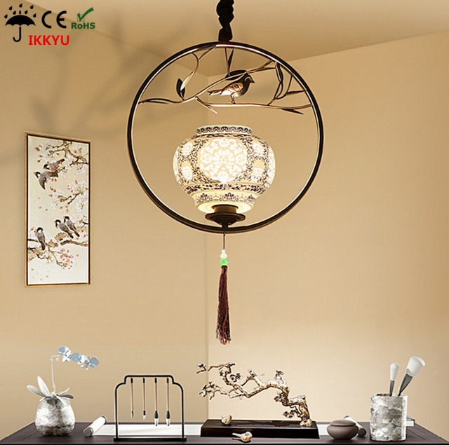 Bird chinese chandelier creative personality cage light restaurant bird chinese chandelier creative personality cage light restaurant study lamp nordic antique restaurant bar lighting audiocablefo