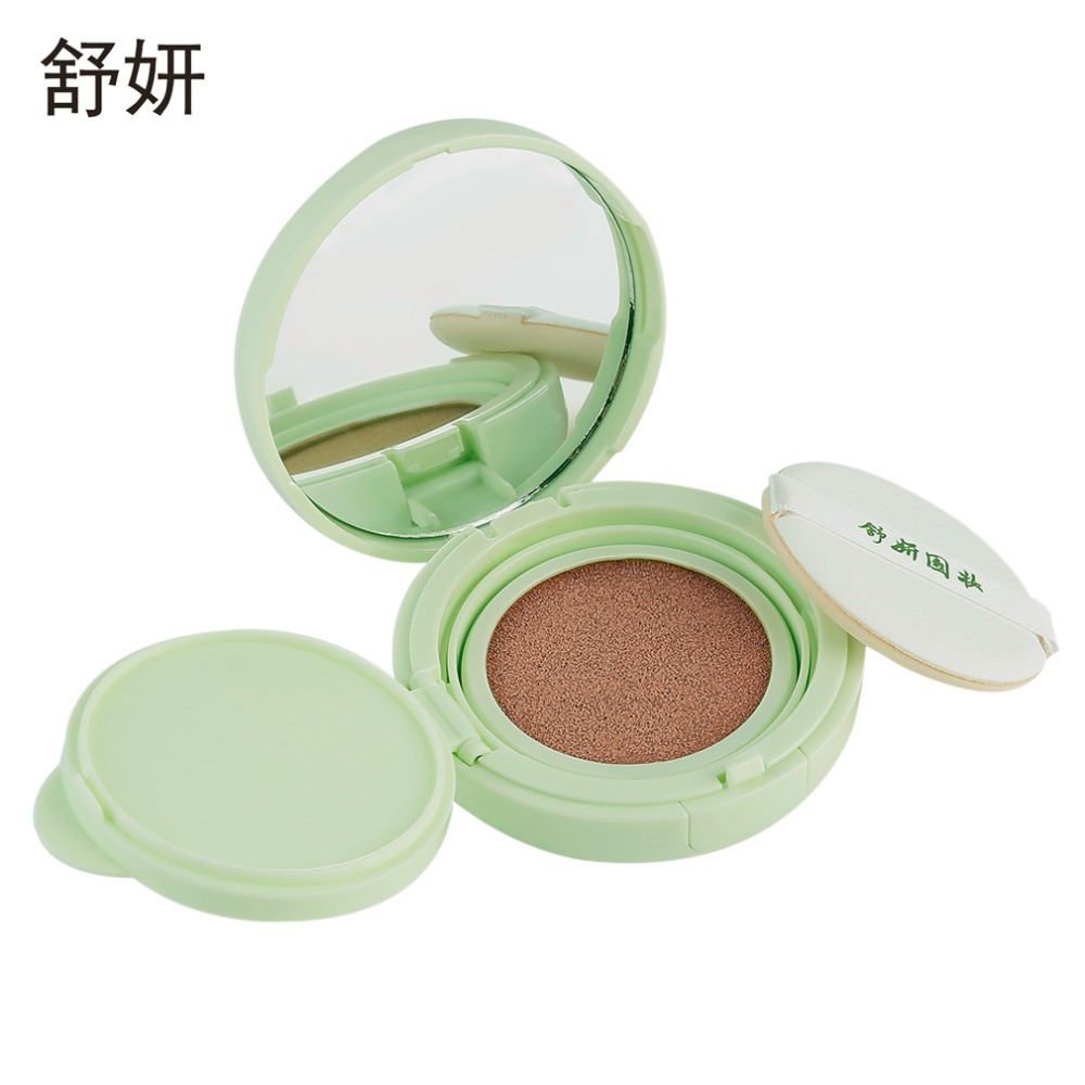 Brand 3pcs Shanghai Shuyan Air Cushion Makeup Powder Solid Perfume Cosmetics Shimmer Concealer Skin Care Gift Natural Color