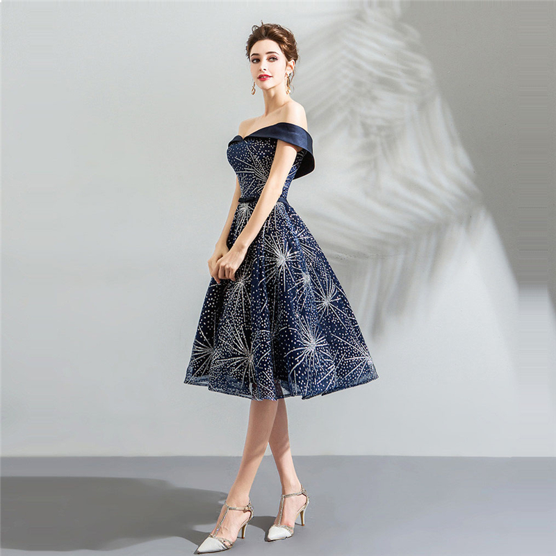 Best Discount Its Yiiya Cocktail Dresses Boat Neck Deep