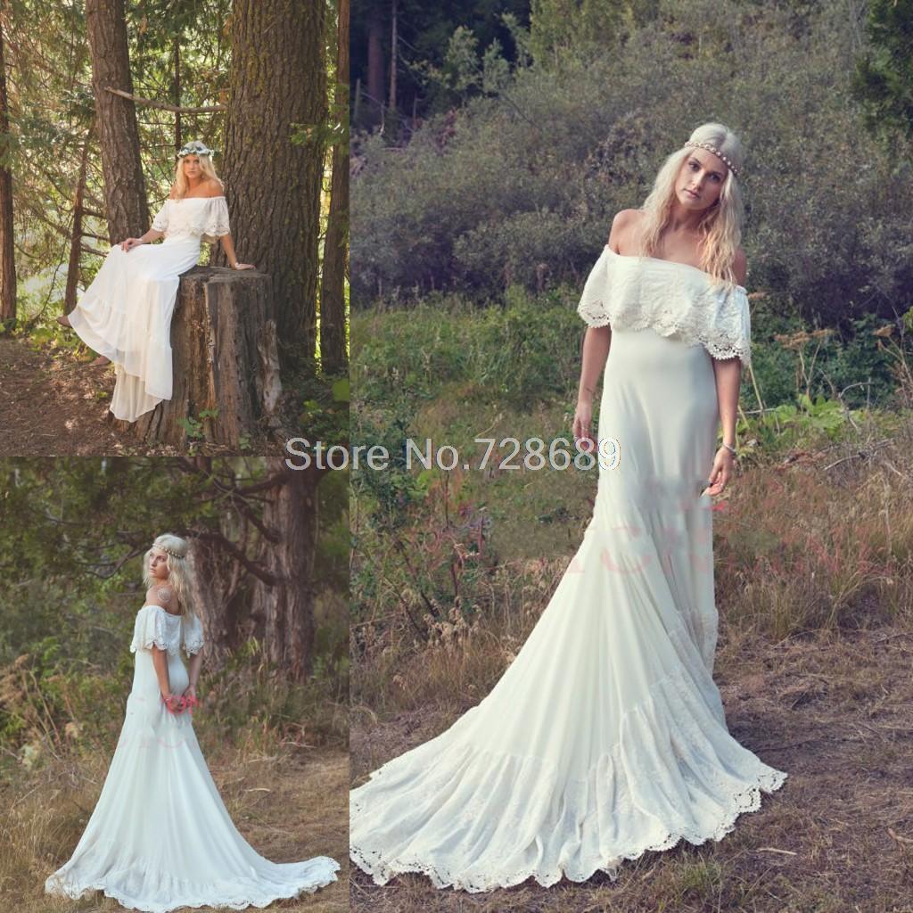 Свадебное платье крем