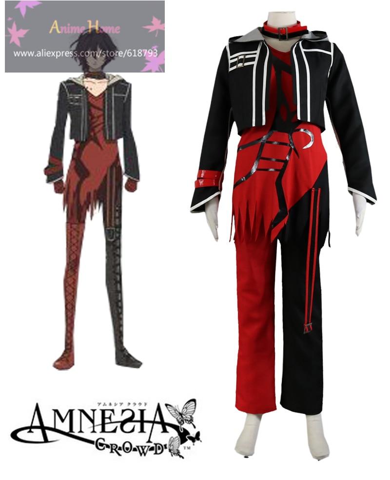 Amnesia Red heart Shin Cosplay costumes Cos Anime Uniform ...
