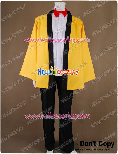 Chobits Cosplay Hideki Motosuwa Costume H008