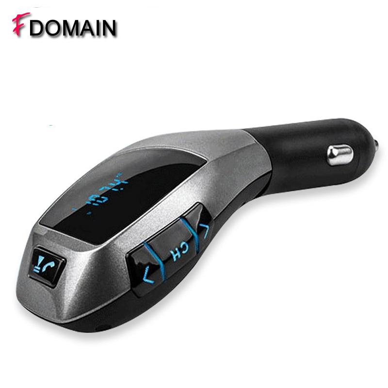 FDOMAIN Car Kit TF card USB flash disk MP3 Player Wireless Bluetooth hands free FM Transmitter
